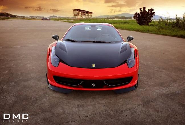DMC trình làng xế độ Ferrari 458 Spider 1