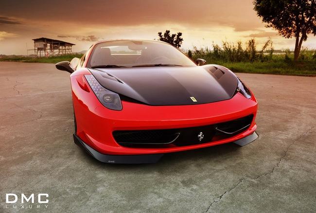DMC trình làng xế độ Ferrari 458 Spider 2