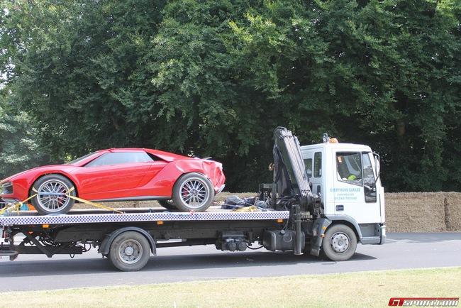Hiện trường vụ tai nạn của xế độc Italdesign Parcour 10
