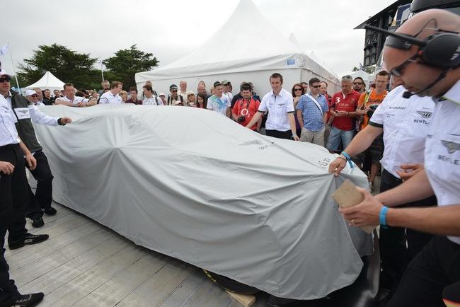 Bentley ra mắt phiên bản sản xuất Continental GT3 tại Goodwood 2