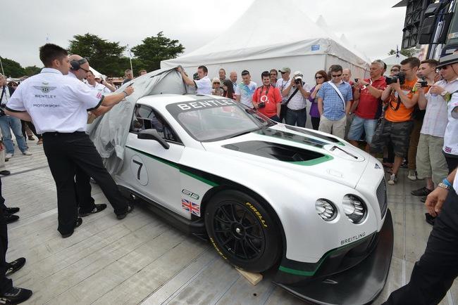 Bentley ra mắt phiên bản sản xuất Continental GT3 tại Goodwood 3