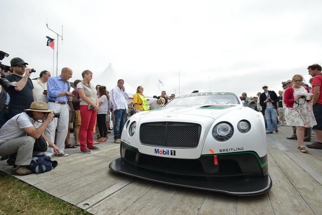 Bentley ra mắt phiên bản sản xuất Continental GT3 tại Goodwood 5