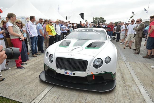 Bentley ra mắt phiên bản sản xuất Continental GT3 tại Goodwood 6