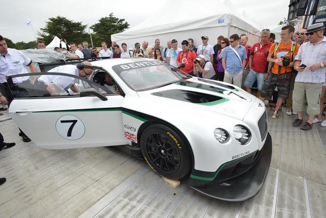 Bentley ra mắt phiên bản sản xuất Continental GT3 tại Goodwood 7