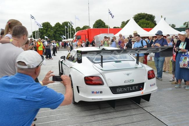 Bentley ra mắt phiên bản sản xuất Continental GT3 tại Goodwood 8