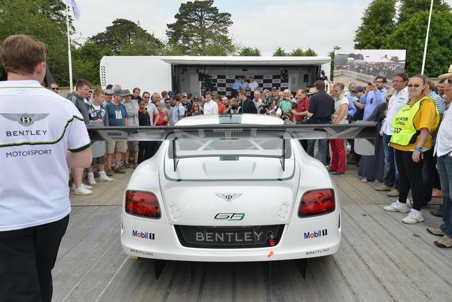 Bentley ra mắt phiên bản sản xuất Continental GT3 tại Goodwood 9