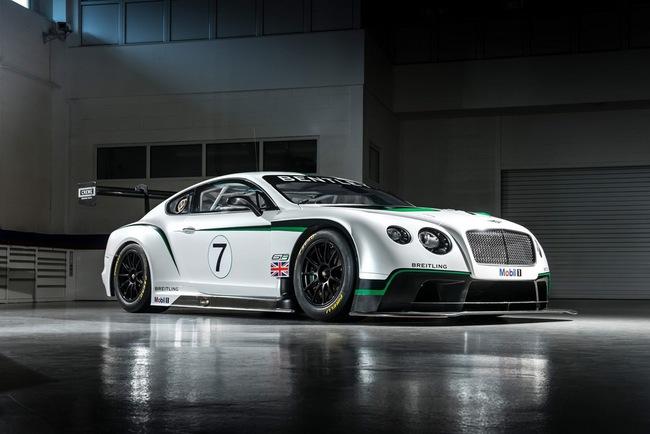 Bentley ra mắt phiên bản sản xuất Continental GT3 tại Goodwood 11