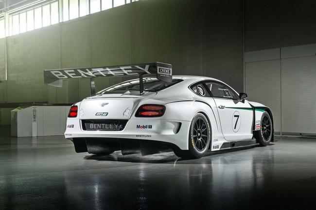 Bentley ra mắt phiên bản sản xuất Continental GT3 tại Goodwood 12