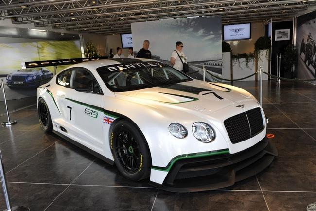 Bentley ra mắt phiên bản sản xuất Continental GT3 tại Goodwood 18