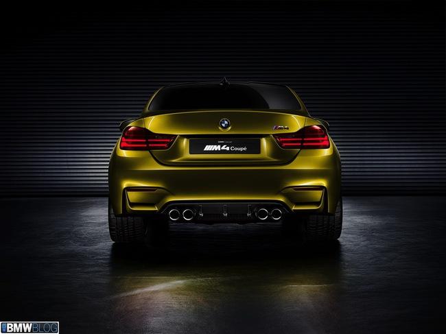 """BMW M4 Coupe Concept - """"Gương mặt"""" mới, đẳng cấp mới 5"""