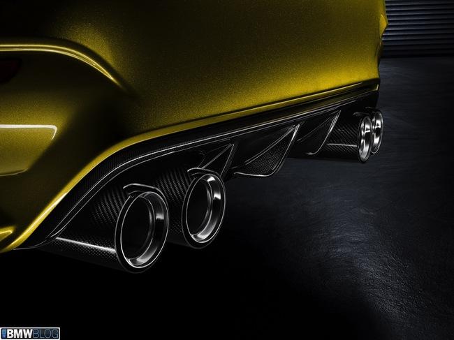 """BMW M4 Coupe Concept - """"Gương mặt"""" mới, đẳng cấp mới 11"""