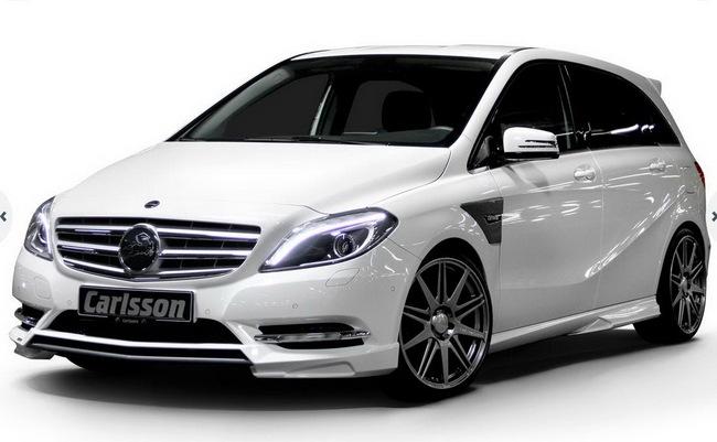 Xe gia đình Mercedes-Benz B-Class đẹp và mạnh mẽ hơn 1