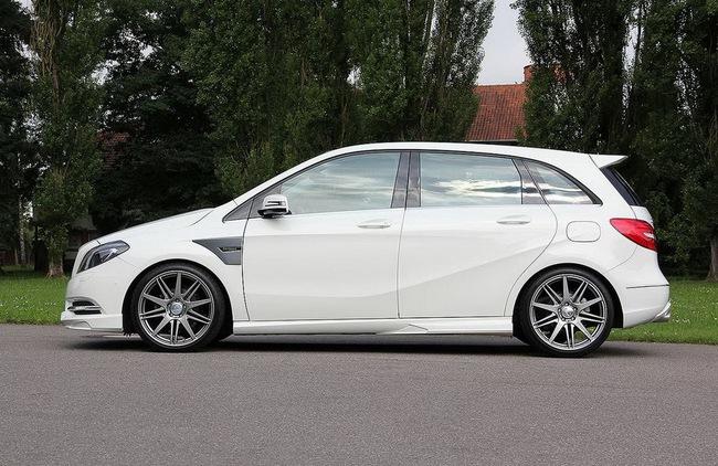 Xe gia đình Mercedes-Benz B-Class đẹp và mạnh mẽ hơn 4