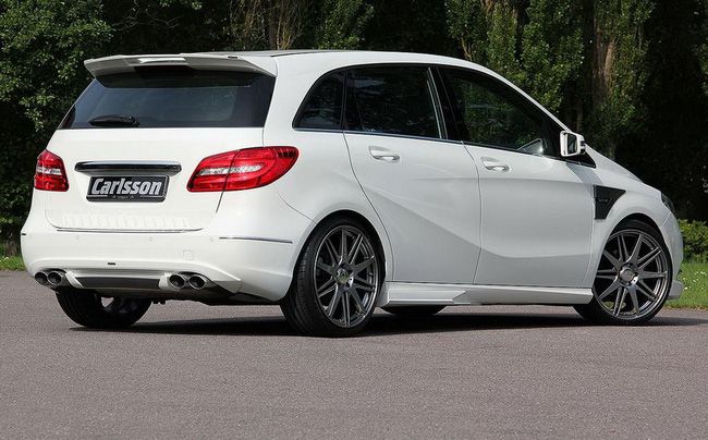 Xe gia đình Mercedes-Benz B-Class đẹp và mạnh mẽ hơn 5