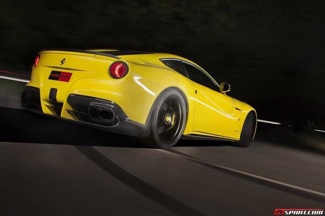 Ferrari F12 Berlinetta độ vàng chóe của Novitec Rosso 7
