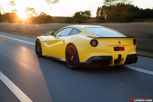 Ferrari F12 Berlinetta độ vàng chóe của Novitec Rosso 9
