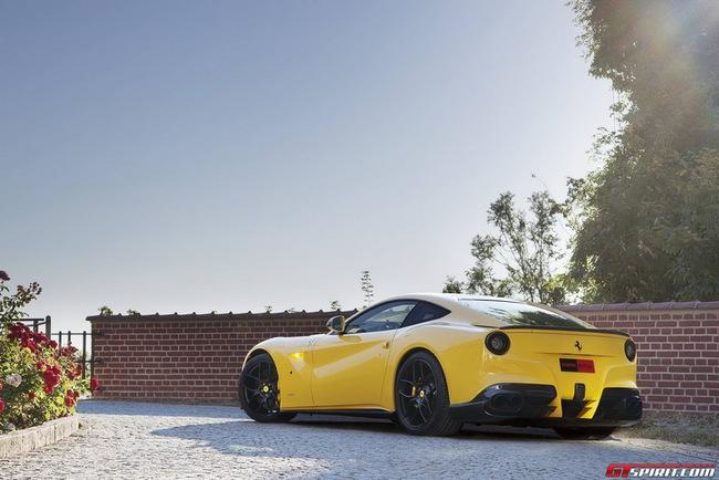 Ferrari F12 Berlinetta độ vàng chóe của Novitec Rosso 13