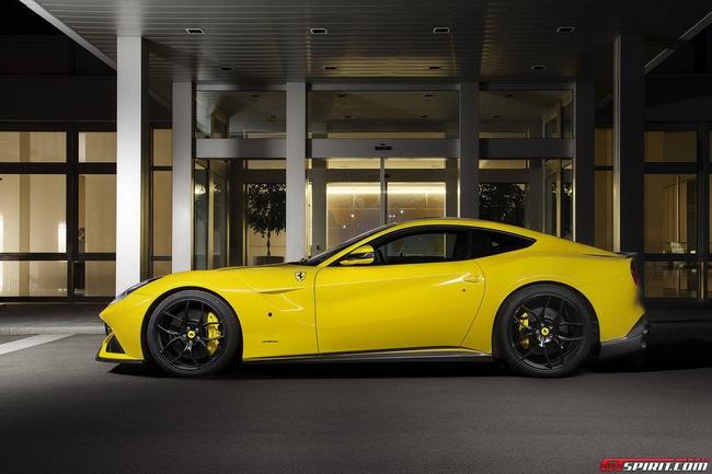 Ferrari F12 Berlinetta độ vàng chóe của Novitec Rosso 16