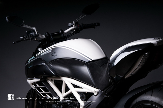 Ducati Diavel AMG độ độc nhất của Vilner 4