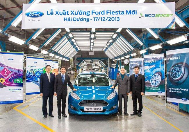 Ford xuất xưởng chiếc Fiesta EcoBoost đầu tiên ở Việt Nam 1