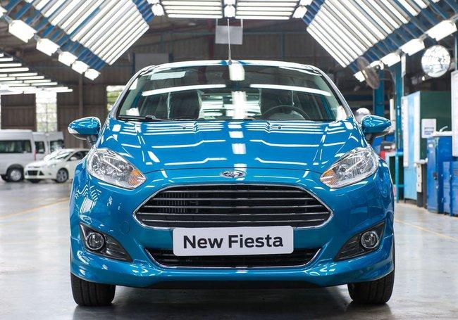 Ford xuất xưởng chiếc Fiesta EcoBoost đầu tiên ở Việt Nam 2