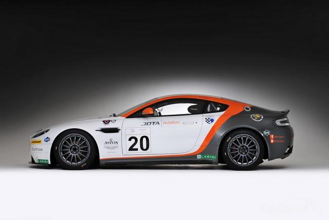 Jota Racing ra mắt xế đua Aston Martin Vantage GT2 2