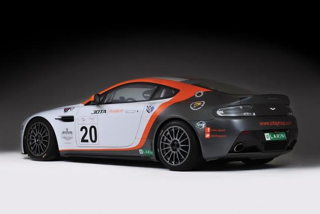 Jota Racing ra mắt xế đua Aston Martin Vantage GT2 3