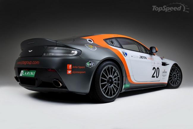 Jota Racing ra mắt xế đua Aston Martin Vantage GT2 4