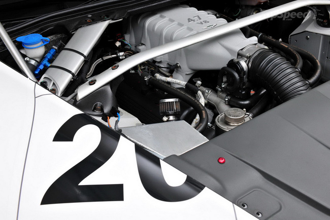 Jota Racing ra mắt xế đua Aston Martin Vantage GT2 5