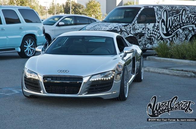 """Audi R8 độ phong cách """"Tron Legacy"""" 1"""