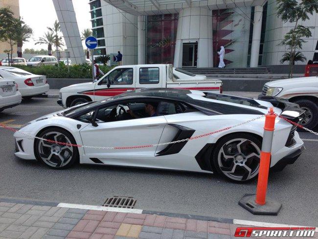 """Siêu xế Mansory Aventador """"No 02"""" xuất hiện tại Qatar 2"""