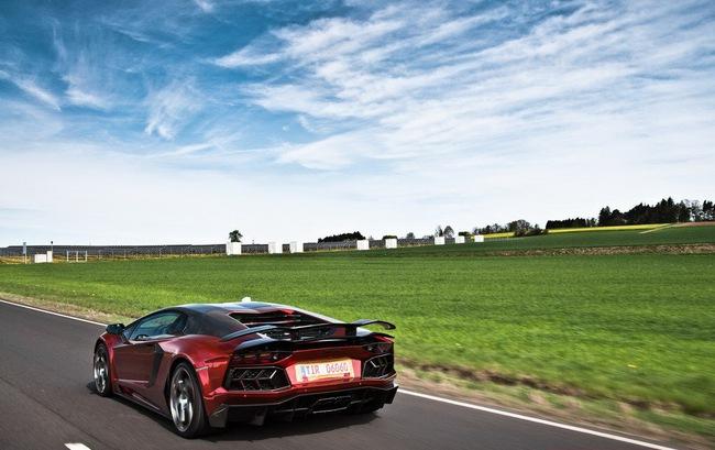 Lamborghini Aventador: Kỳ quan mới trong thế giới xe độ 7