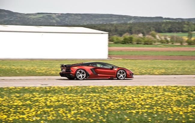 Lamborghini Aventador: Kỳ quan mới trong thế giới xe độ 9