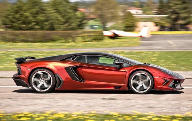 Lamborghini Aventador: Kỳ quan mới trong thế giới xe độ 12