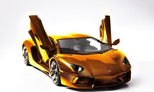 Lamborghini Aventador phiên bản vàng tăng giá lên 10,5 triệu Euro 5