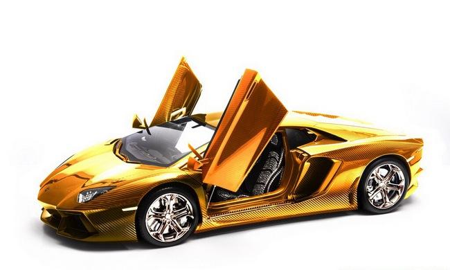 Lamborghini Aventador phiên bản vàng tăng giá lên 10,5 triệu Euro 6