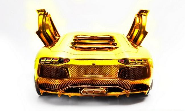 Lamborghini Aventador phiên bản vàng tăng giá lên 10,5 triệu Euro 8