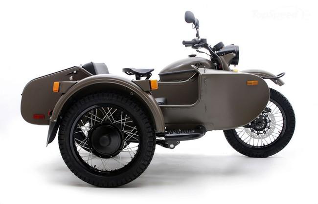 Ural T và Ural Patrol T – Thêm lựa chọn cho người yêu Sidecar 4