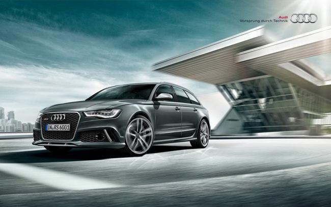 Audi RS6 Avant Plus: Khởi đầu cho dòng xe thể thao mới 7
