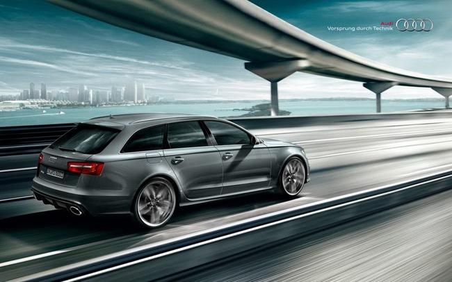 Audi RS6 Avant Plus: Khởi đầu cho dòng xe thể thao mới 8