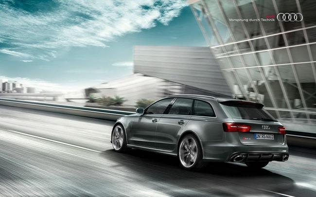 Audi RS6 Avant Plus: Khởi đầu cho dòng xe thể thao mới 9