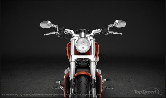 """Harley-Davidson V-Rod Muscle – """"Đẹp trai nhưng lạnh lùng"""" 9"""