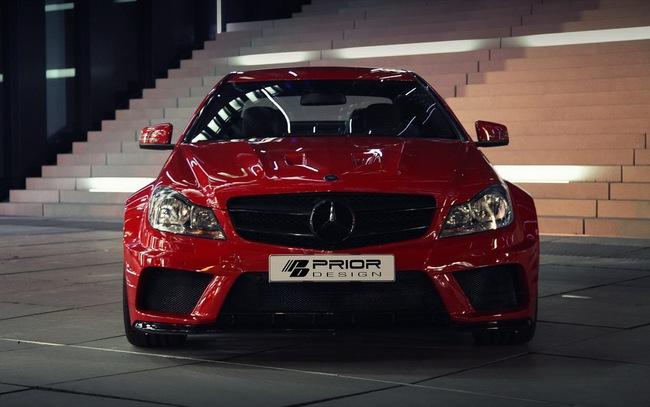 "Mercedes-Benz C-Class Coupe bản độ ""rực lửa"" của Prior Design 1"