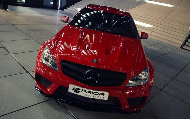 "Mercedes-Benz C-Class Coupe bản độ ""rực lửa"" của Prior Design 5"