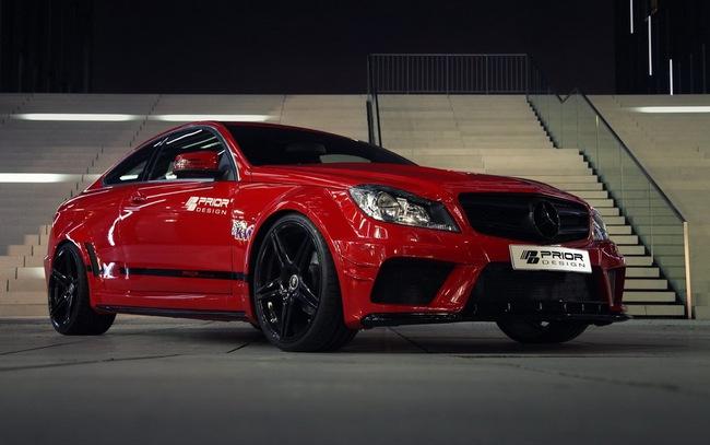 "Mercedes-Benz C-Class Coupe bản độ ""rực lửa"" của Prior Design 6"