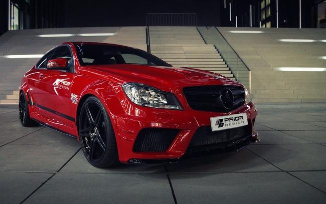 "Mercedes-Benz C-Class Coupe bản độ ""rực lửa"" của Prior Design 7"