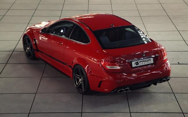 "Mercedes-Benz C-Class Coupe bản độ ""rực lửa"" của Prior Design 8"