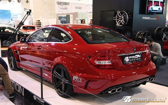 "Mercedes-Benz C-Class Coupe bản độ ""rực lửa"" của Prior Design 15"