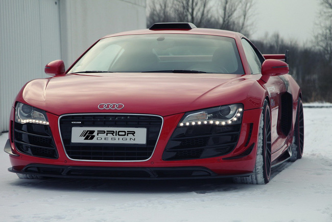 Ngắm xế độ Audi R8 GT650 của Prior Design 1