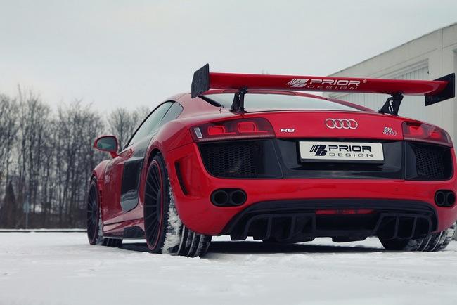 Ngắm xế độ Audi R8 GT650 của Prior Design 8